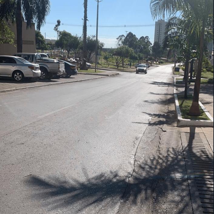 Águas Claras: moradores pedem quebra-molas para evitar acidentes