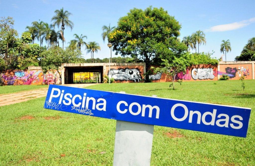 restauração da antiga Piscina com Ondas, do Parque da Cidade Dona Sarah Kubitschek | Foto: Lúcio Bernardo Jr/Agência Brasília